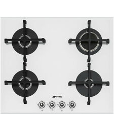 Smeg PV164B1 Linea Aesthetic 4 Burner Integrated Gas Hob Kitchen Cooker White