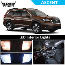 White LED Interior Lights Accessories Replacement Package Kit fits 2018 Ascent