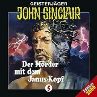 JOHN SINCLAIR: FOLGE 5 - DER MÖRDER MIT DEM JANUSKOPF  CD NEW