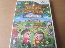 Animal Crossing: Let's go to the City (Nintendo Wii, 2008) Neu und Versiegelt PAL
