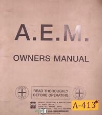 Osaka OKK Kiko GML Milicon V, Instructions, Operations and Programming Manual