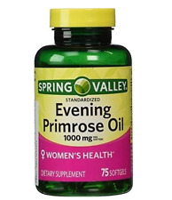 Spring Valley Evening Primrose Oil 1000mg Women's Health Dietary Supplement