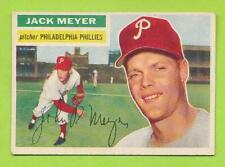1956 Topps Grey Back- Jack Meyer (#269)  Philadelphia Phillies  EX-EX+