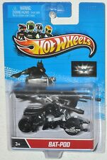 Hot Wheels Motocicletas Murciélago VAINA Batman Rider MOC de metal 2013