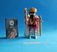 Playmobil Figures 13 - Rey medieval con cetro dorado y capa  de armiño  9332