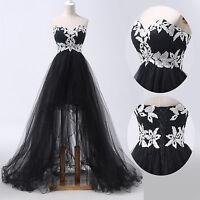 ღNEW Sweetheart Tulle Ball Gown Evening Homecoming Party Prom Dresses Long Dress