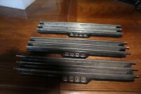 3 LIONEL RCS REMOTE CONTROL TRACK SECTIONS VG O SCALE, used
