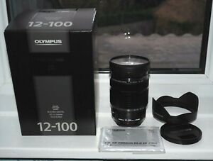 Olympus M.Zuiko Digital ED 12-100mm f/4 IS PRO Lens totally MINT ten shots only