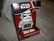 NeW Lego Star Wars Storm Trooper Alarm Clock Room Decor