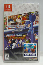MEGA MAN LEGACY COLLECTION 1 + 2 - MEGAMAN  NINTENDO SWITCH REGION FREE