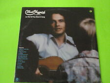 """MERLE HAGGARD-TEL U BOUT A SONG-12"""" Vinyl LP-from ABC RADIO MUSIC Library-SEALED"""