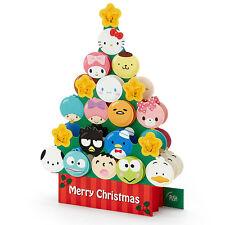 Sanrio Character Mix Christmas Card Lighting 20 Songs Tree Stand Xmas gift kitty