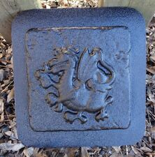 dragon accent  travertine tile abs plastic mold mould