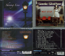 2 CD, Shining Line (2010) + SONIC STAZIONE-NEXT Stop +4 (2016), AOR Lionville
