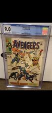 Avengers #58 CGC 9.0 White Pages Origin of Vision Silver Age Marvel 1968