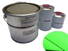 1 Litre Kit 2K VERNIS voiture KAWA vert mat MISE AU POINT VERT peinture tendance