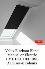 Velux Blackout Skylight Blinds For Roof Windows Every Size & Colour DML DKL DFD