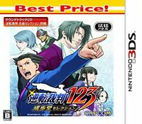 3DS Ace Attorney123 Gyakuten Saiban Capcon Game Software for Nintendo 3DS