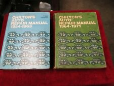 1953-1963 1964-1971 Chilton Manuals Gm Ford Chrysler All Domestic Makes 2 Books