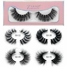 3D Mink Lashes Natural Long False Eyelashes Volume Fake Lashes Extension Soft