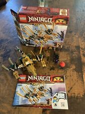 LEGO Ninjago Legacy: The Golden Dragon(70666) Complete Set w/ Instructions & Box
