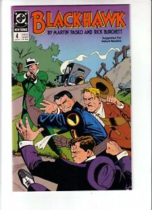 BLACKHAWK #4 (VF-NM) 1989