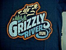 GRIZZLY RIVER RUN Disney California Adventure Navy Blue T-Shirt Large NWT