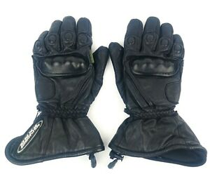 Harley-Davidson Mens Large FXRG Gore-Tex Leather Gloves Motorcycle Riding Gloves