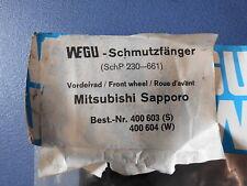 Schmutzfänger Mitsubishi Sapporo  vorne Sonderposten Farbe Schwarz 400 603