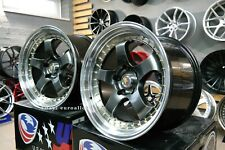 New 18 inch 5X120 9.5 10.5J DEEP DISH JDM SSR style wheels for BMW 3 5 gt series