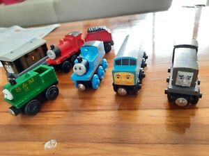 thomas and friends wooden railway set - large