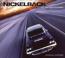 All the Right Reasons [CD/DVD] by Nickelback (CD, Jul-2007, 3 Discs, Roadrunner Records)
