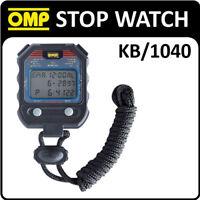 KB/1040 OMP RACING HANDHELD STOP WATCH 60 LAP MEMORY RACE/RALLY/TRACK/KARTING