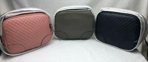New Gucci 449413 Soft Leather Micro GG Guccissima BREE Crossbody Purse Bag