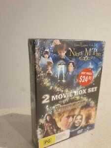 Nanny McPhee  / Peter Pan (DVD, 2007, 2-Disc Set) Region 4 - NEW+SEALED