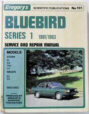 DATSUN BLUEBIRD 1981/1983 GARAGE WORKSHOP MANUAL GREGORY'S PUBLICATIONS NO191
