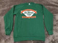 VINTAGE 1988 Official St Patrick's Day Party Animal - sweatshirt crewneck Large
