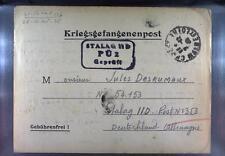 Camp Stalag IID Stargard 1940 POW Prisoner of War Kriegsgefangenenpost L2c