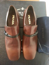 PRADA Moccasins 100% Leather Casual Shoes for Men
