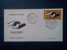 L734. Enveloppe Premier Jour. 1965. Congo Brazzaville.  Europe Afrique