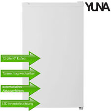 Yuna Kühlschrank Standkühlschrank Freistehend 0* Eisfach 92 L weiß 40dB