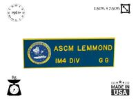 USS Constellation CV-64 Badge ASCM Lemmond Sign unknown Navy 1960s USA Tag