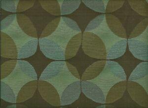 Maharam Venn Thunder Black, brown, Blue Modern Geometric HEAVY Upholstery Fabric