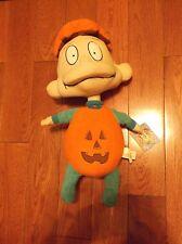 Vtg Nickelodeon Rugrats TOMMY Halloween Pumpkin Costume Stuffed Plush Doll TAG