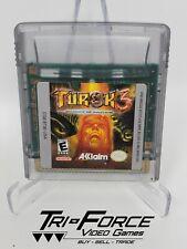 Turok 3: Shadow of Oblivion (Nintendo Game Boy Color, 2000) GBC Free shipping