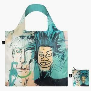 LOQI Tote Bag Warhol Graffiti Artist Jean Michel Basquit - Grocery, Students