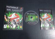 JEU Sony PLAYSTATION 2 PS2 : SOS FANTOMES Le Jeu Vidéo (complet, envoi suivi)
