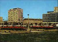 DRESDEN Sachsen DDR Ansichtskarte 1974 color ungelaufen Pirnaischer Platz