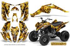 YAMAHA RAPTOR 350 GRAPHICS KIT CREATORX DECALS STICKERS INFERNO Y