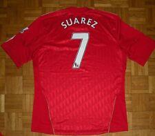 "Liverpool #7 Suarez 2010/2011 Adidas ""L"" Shirt Jersey Trikot Camiseta Maglia"
